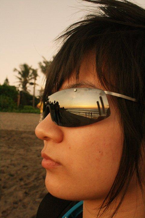 horizon silhouette / horizon reflection
