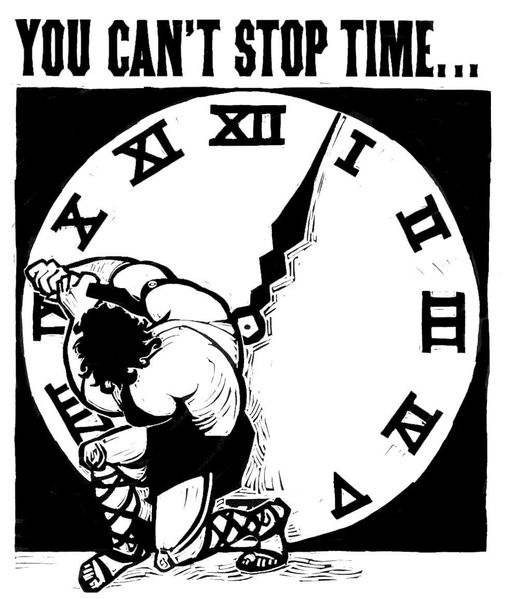 you can't stop time