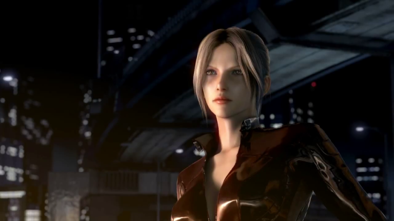 nina williams in Tekken: Blood Vengeance